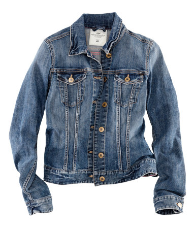 denim jacket h and m